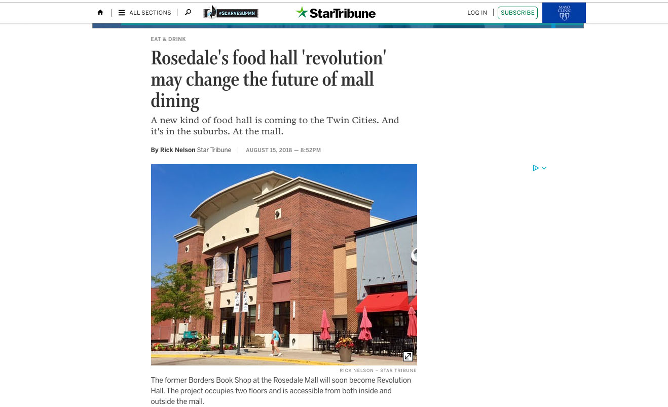 Rosedale's food hall 'revolution' may change the future of mall dining