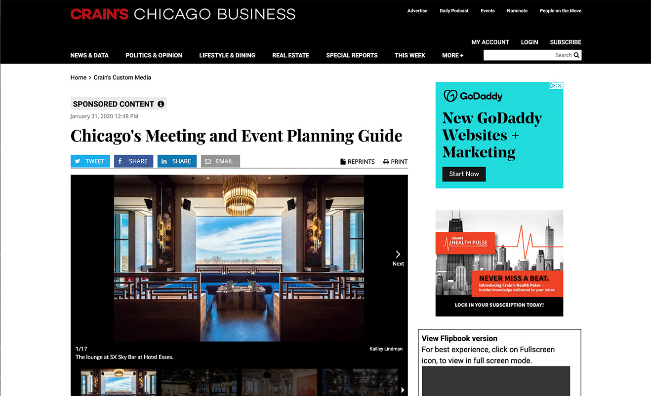 Chicago's Meeting and Event Planning Guide