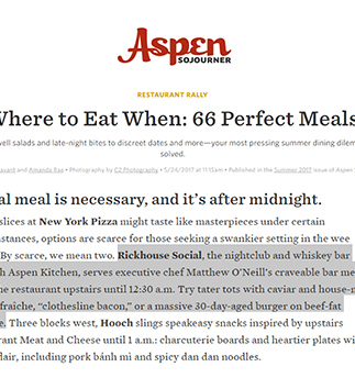 Kitchen Aspen | Hearty and Rustic American Food